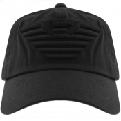Product Image for Emporio Armani Baseball Logo Cap Black